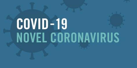 COVID-19 novel coronavirus banner
