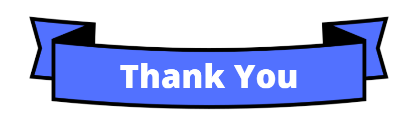 Thank-you council members banner